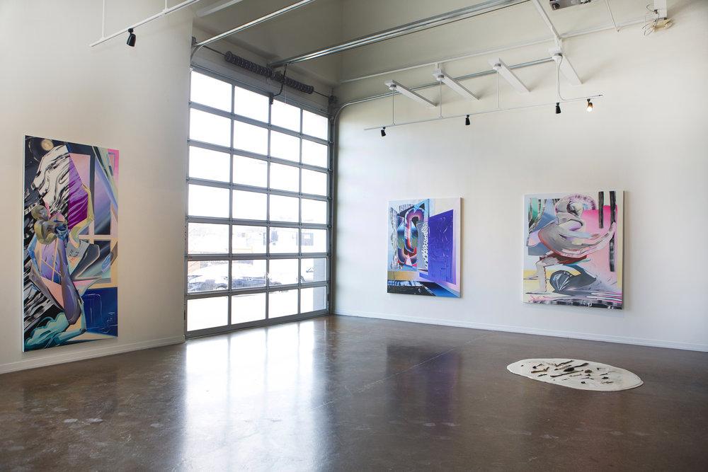Sentinels, 2018, Zeitgeist Gallery, Nashville, TN