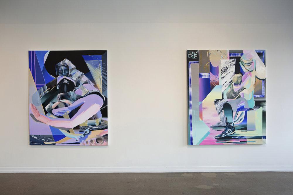 Sentinels, 2017, Zeitgeist Gallery, Nashville, TN
