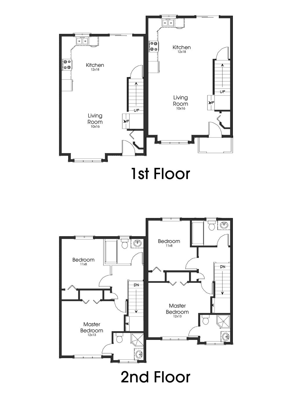 The Salmonier Duplex-1- first and 2nd floor.jpg