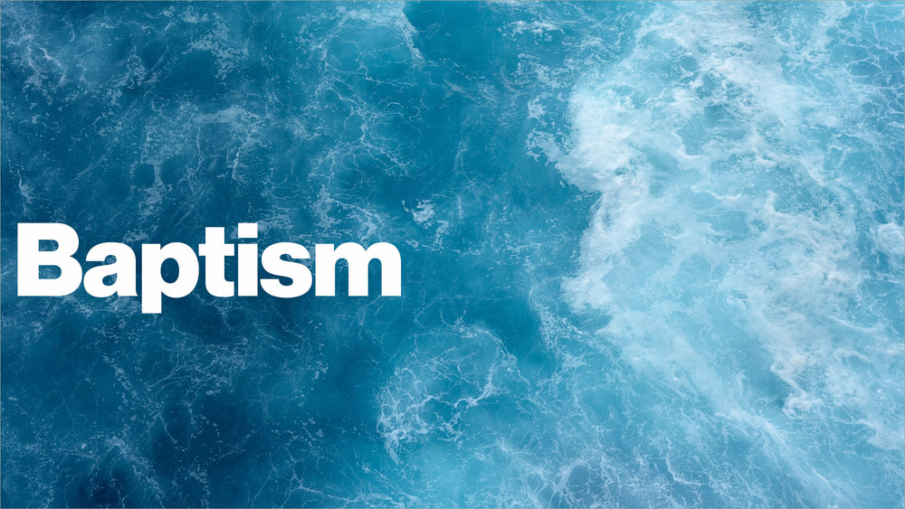 """Baptism - At The Bridge Bible Church, we practice baptism by immersion. The word """"baptize"""" means """"immerse"""" or """"dip"""". Jesus was baptized by immersion, the New Testament practice of baptism was immersion and it is the best way to illustrate His death, burial and resurrection and our new life as a Christian."""