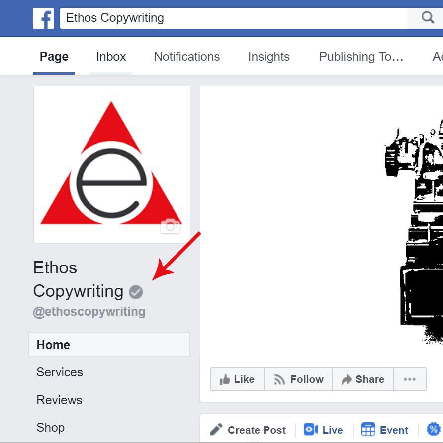 Earn your Facebook verification badge.