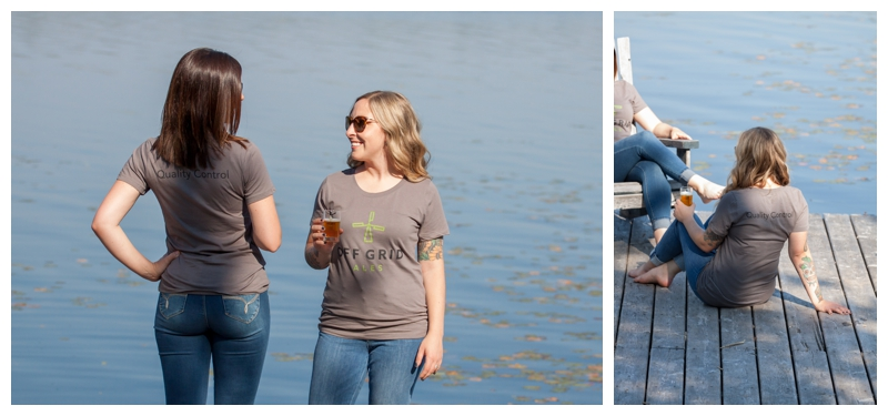 Womens Off grid ales super soft t-shirt.  sizes m-xl  $25 + hst