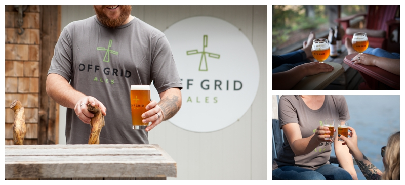off grid ales logo glasses                                 20oz pub glass  $9    13oz belgian style glass - perfect for sharing a bottle  $10     5oz taster glasses $6                                                                                                                       all prices + hst