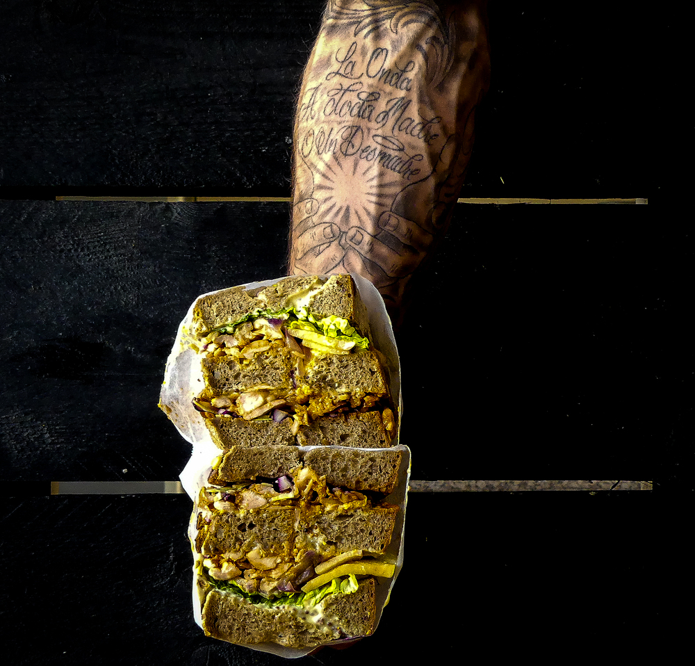 Geplukte BBQ kippendij op brood!
