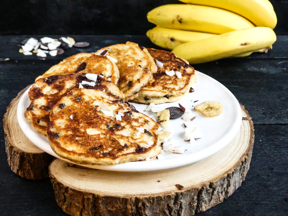 Choco Choco Banana Coconut Pancakes5.jpg