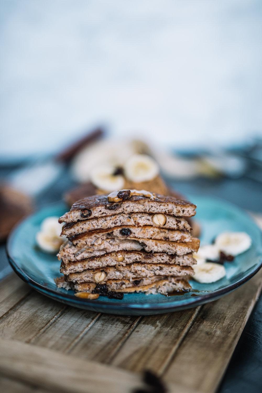 Peanut butter, raisins & peanuts Pancakes9.jpg