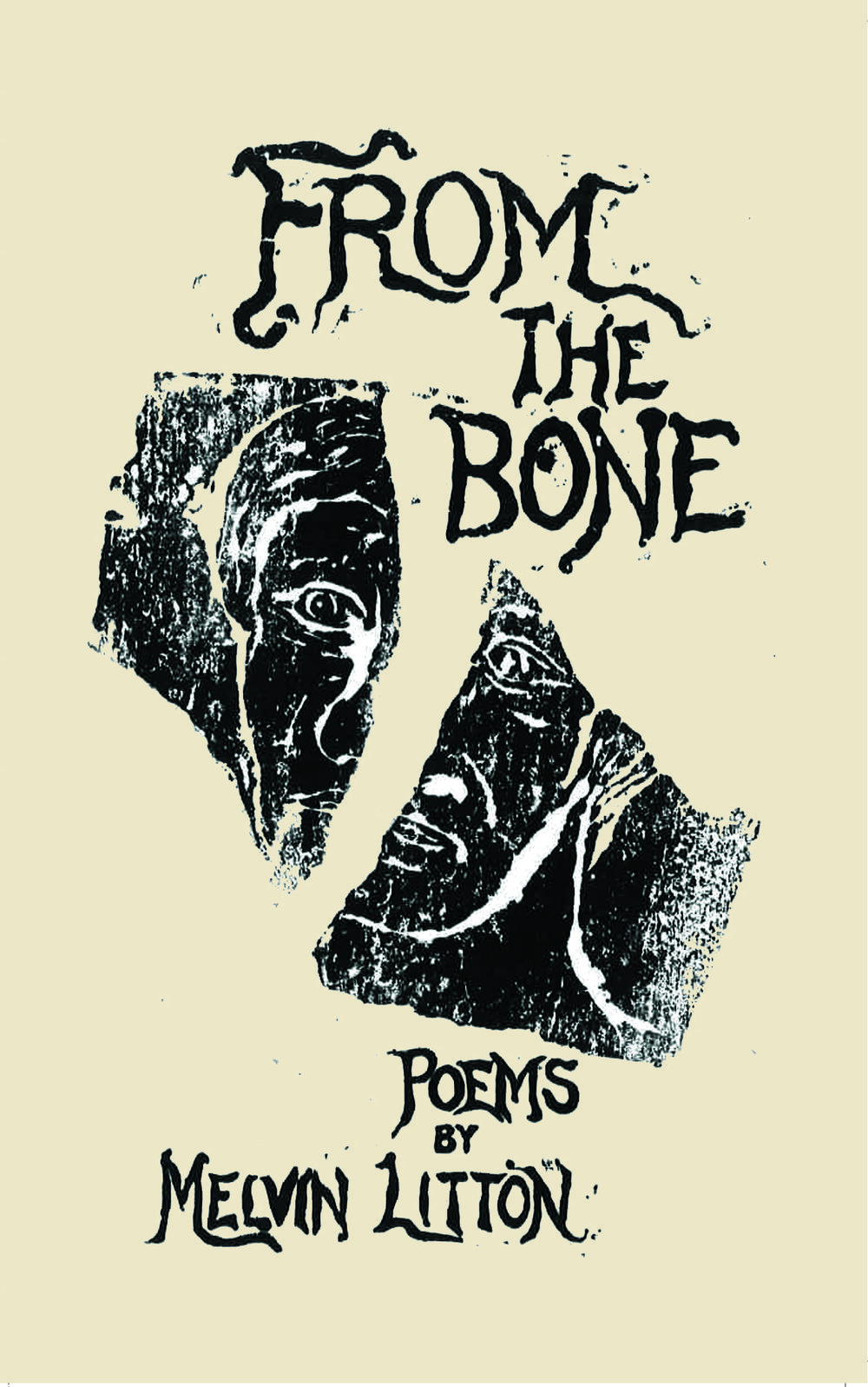 Melvin Litton, From the Bone, front cover, 2-7-18.jpg
