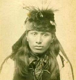 Black Elk as a young man.