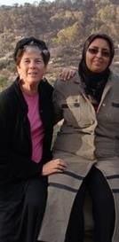 Elana Rozenman and Ibtisam Mahameed