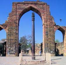 One of the ancient inscribed pillars Ashoka raised in South Asia promoting peacemaking and sustainable development.