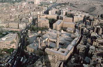 Al Azhar University in Cairo, Egypt