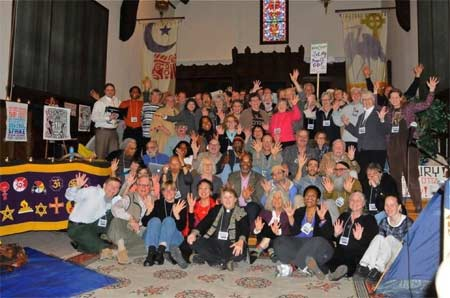 Conferees at the Occupy Faith National Gathering in Berkeley, California.