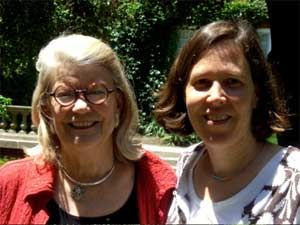 Co-teachers, Professor Diana Eck and Professor Jennifer Peace.