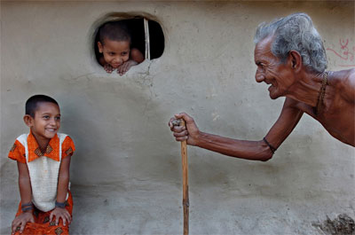 First Prize:  Friendship  by Sudipto Das, India