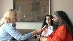 Bettina Gray interviews Swami Chidananda at the 2009 Parliament of the World's Religions in Melbourne.