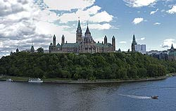 Parliament Hill, Ottawa              Photo: Wikipedia