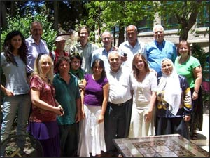 Relationship by relationship, group by group, IEA is sewing peace throughout the Holy Land.
