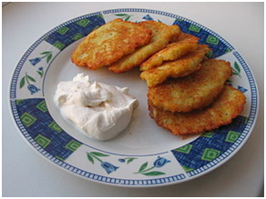 Potato Pancakes – Photo: Kagor at Ukrainian Wikipedia
