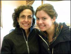Paula Weiss and her daughter Adah