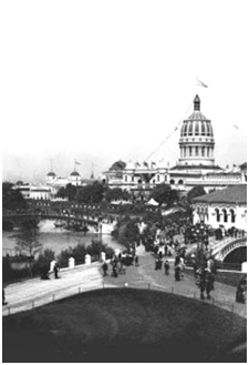 Chicago World's Columbian Exposition, 1893 — site of the World's Parliament of Religions – Photo: Wikimedia
