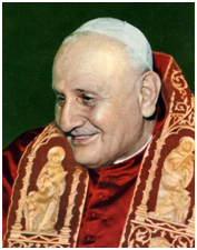 Pope John XXIII was responsible for calling together Vatican II, though he died before the conclave concluded. – Photo: Wikimedia