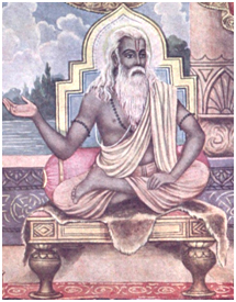 Vyasa, author of the Bhagavad Gita. – Photo: Wikipedia