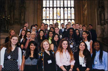 2013-14 University ParliaMentors – Photo: Facebook