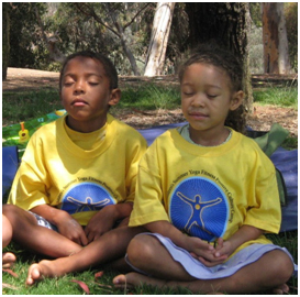 Children Meditating – Photo: Meditation Initiative