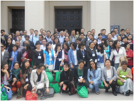 "More than 130 participants at the""Seizing an Alternative""conference came from China – Photo: RBS"