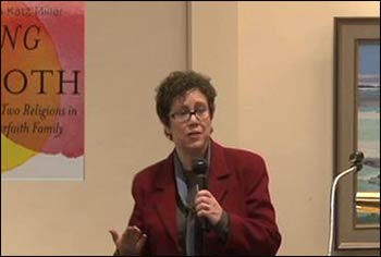 Susan Katz Miller speaking about her new book. Photo: Vimeo