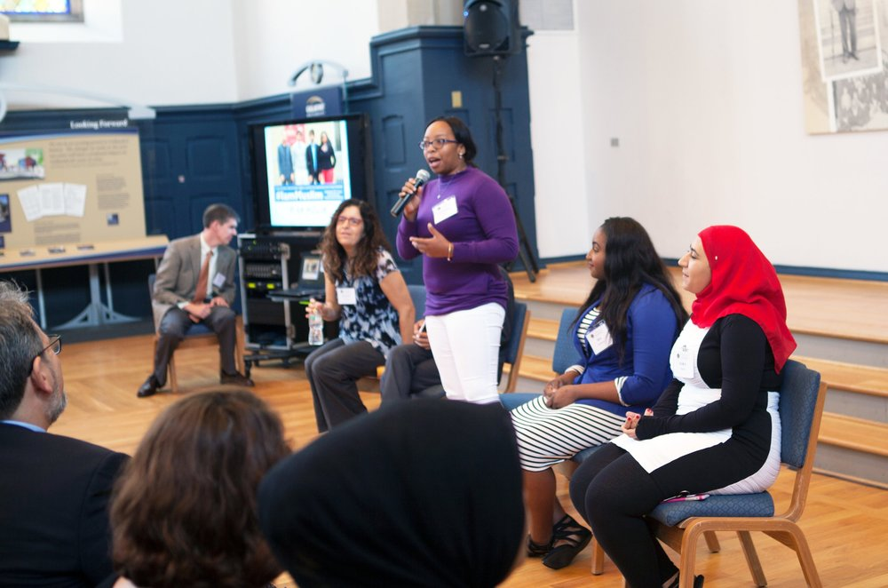 A workshop at this year's Campus Challenge.    –  Photo: Department of Education, FBNP
