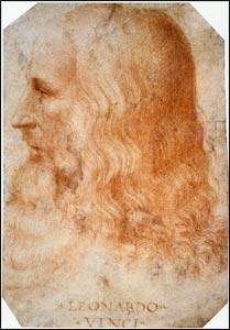 Portrait of Leonardo da Vinci by his friend and apprentice, Count Francesco Melzi – Photo: Wikipedia