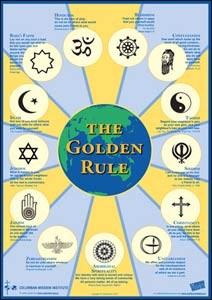 The Golden Rule Poster – Graphic:  Scarboro Missions