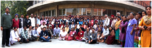 Participants at the Dec. 2014 URI India National Assembly – Photo: URI
