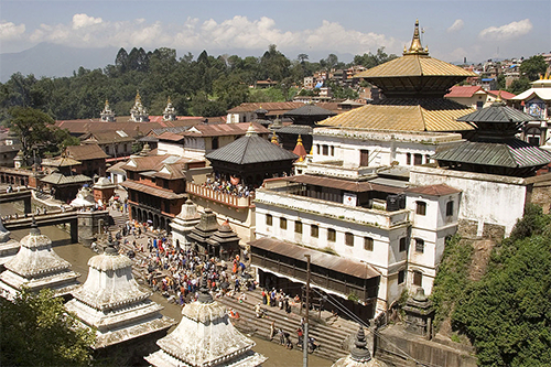 Pashupatinath temple in Kathmandu, Nepal – Photo: Wikipedia, Luca Galuzzi