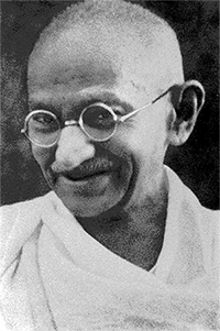 Mahatma Gandhi – Photo: Wikipedia
