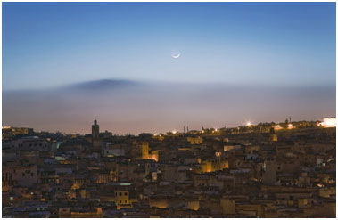 Fes at dusk. – Photo: Omar Chennaf