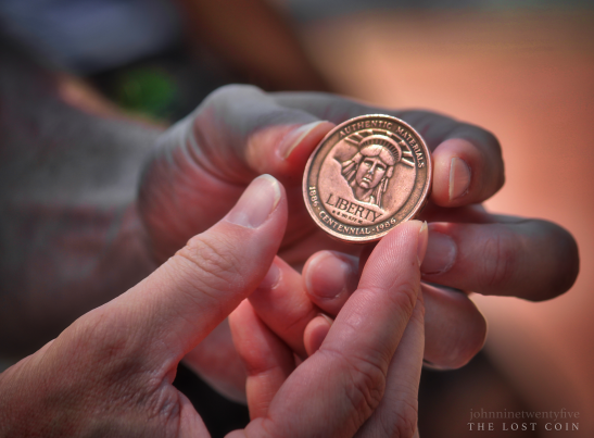 The Lost Coin – Photo: Flickr, John 9:25 (Seeing with New Eyes), Cc.2.0