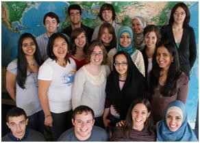 2009 Faiths Act Fellows at the Tony Blair Faith Foundation in London – Photo: TBFF