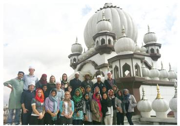 Faiths Act Fellows in Birmingham, UK – Photo: Imandeep Kaur