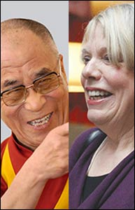 The Dalai Lama and Karen Armstrong – Photo: CPWR