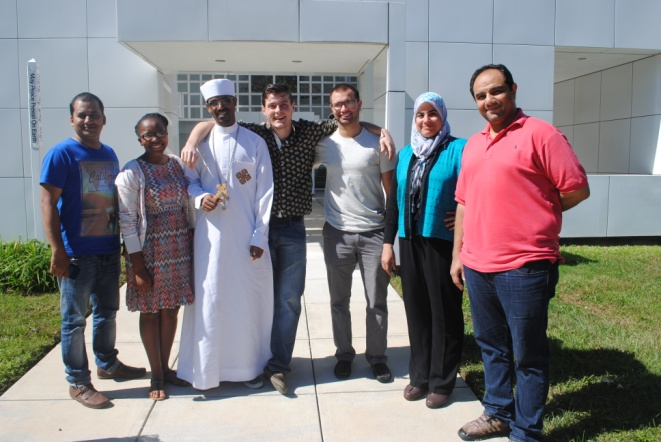 Hartford Seminary students in the Interfaith Peacemaking Program – Photo: Hartford Seminary
