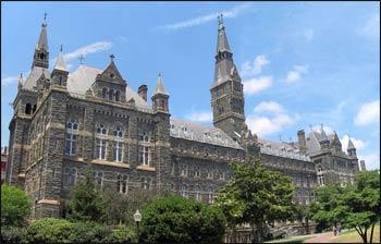 Georgetown University – Photo: Wikipedia
