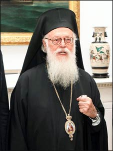 Archbishop Anastasios of Tirana – Photo: Wikipedia