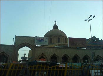A Christian church in Baghdad – Photo: Wikipedia