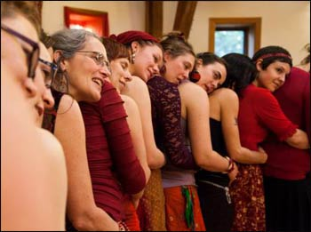 ALisa Starkweather's Women's Belly and Womb Conference - Photo courtesy of Marsia Shuron Harris