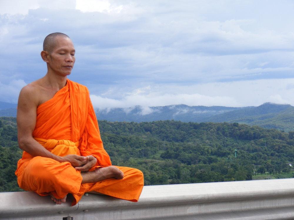 Phra Ajan Jerapunyo, Abbot of Watkungtaphao, Thailand – Photo: Wikimedia, Cc.3.0