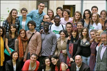 A Coexister event in Paris.