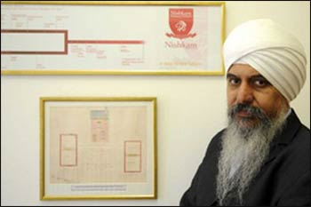 Rangit Singh Dhanda of the Nishkam Free School in Handsworth, Birmingham, UK – Photo: Birmingham Post