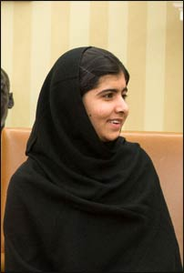 Malala Yousafzai – Photo: Wikipedia